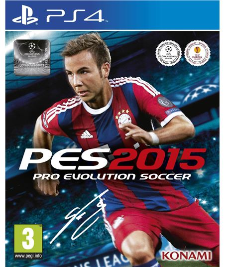 Konami juego ps4 pro evolution soccer 2015 one edition 100660 - 100660