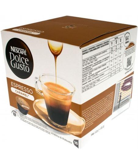 Cápsulas de Dolce gusto espresso caramelo, 16 unid. 12128780 - 7613032910914