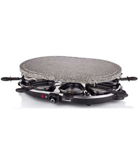 Family 8 stone & raclette set 1200 w Princess 1627 162720 - 8712836319950