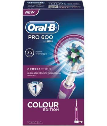 Braun PRO600MORADO cepillo dental pro600 morado cross action - 4210201105459