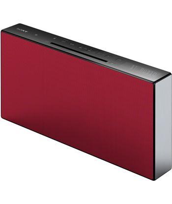 Equipo  micro Sony CMTX3CDR rojo bluetooth