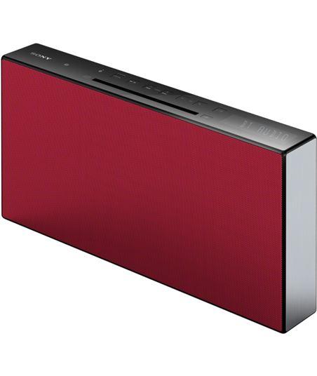 Equipo  micro Sony CMTX3CDR rojo bluetooth - 4905524981353