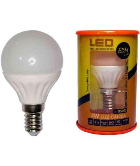 Bombilla led Elektro e27 5w 3200k luz calida ELEK35463 - 8425998354638