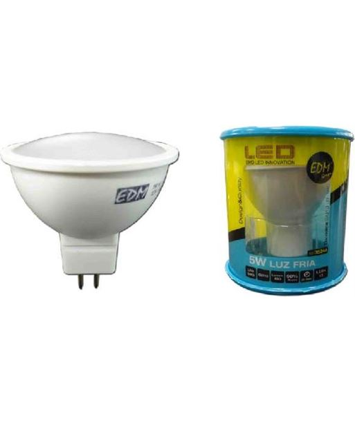 Lampara led Elektro mr16 5w 6400k luz calida 35246 - 8425998352467