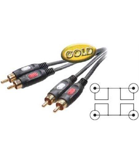 Elektro cable 2rca macho a 2rca macho 1,5m vivanco 41012 elek41012 - 3-01-N-41012