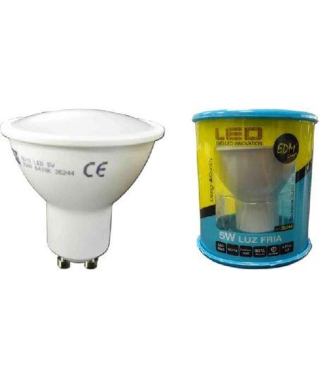 Lampara led Elektro gu-10 5w 6400k luz calida 35244 - 8425998352443