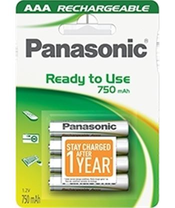 Panasonic P064E pilas recargables ( blister 4aa) Pilas cargadores - 5410853045250