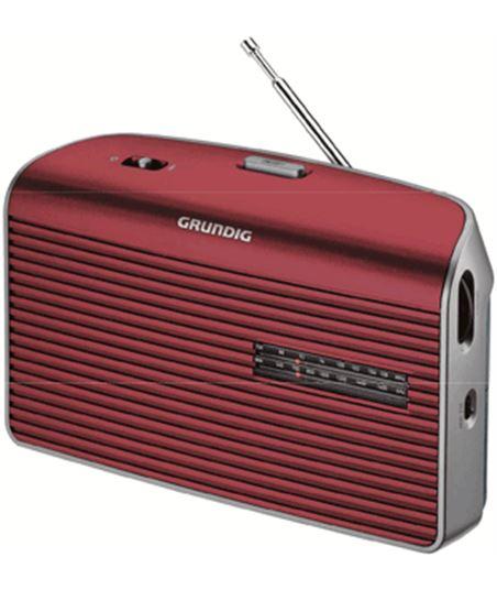 Radio Grundig music 60 rojo grn1540 - 4013833873853