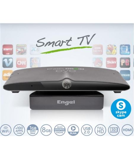 Receptor smart tv android Engel EN1005 con camera - EN1005