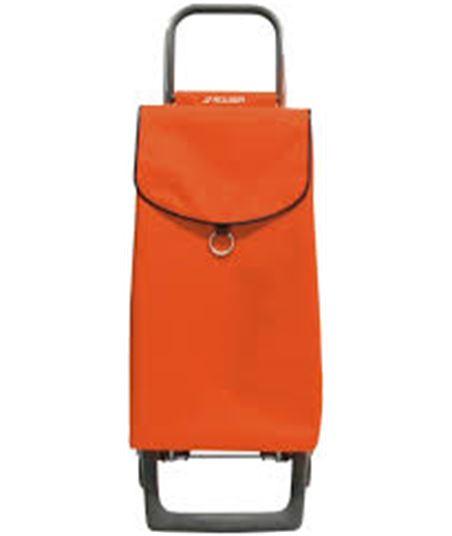 Carro compra Rolser 2 ruedas mandarina pep001_manda - PEP001M