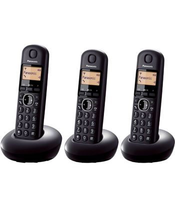 Telefono inal Panasonic kx-tgb213spb trio negro KXTGB213SPB