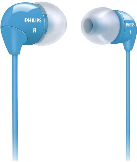 Auriculares Philips she3590bl10, botón she3590bl_10 - 6923410713695