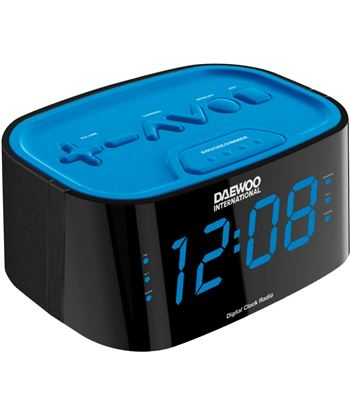 Radio reloj desp. digital  Daewoo dcr-45 azul DCR45BLAZUL