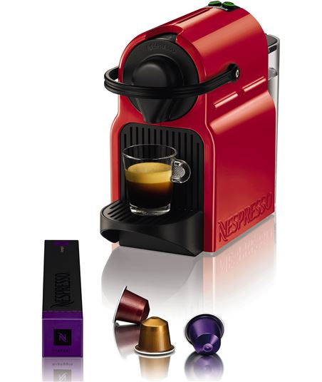 Cafetera Krups nespresso inissia roja xn1005p40 - 010942216476