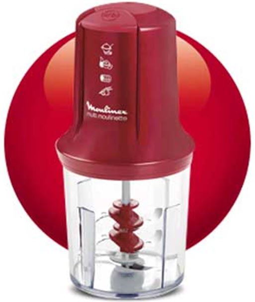 Picadora Moulinex at714g32 multimoulinette roja - 3045388510328