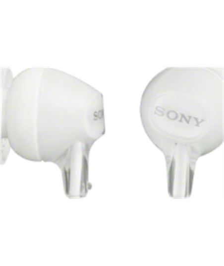 Auricular  de botàn Sony MDREX15LPW blanco
