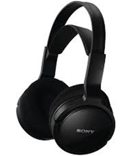 Auricular  inal. Sony mdrrf811rk negro (diadema)