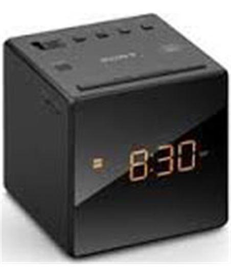 Radio reloj Sony icfc1b.ced negro ICFC1BCED