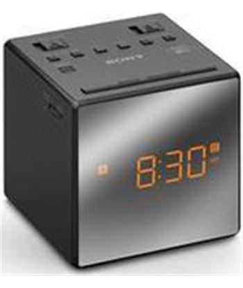 Radio reloj Sony icfc1tb.ced 2 alarmas negro SONICFC1TB