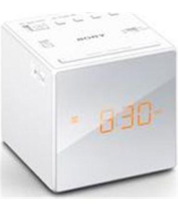 Radio reloj Sony icfc1b.ced blanco icfc1w