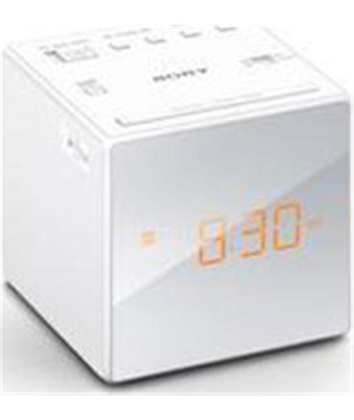 Sony ICFC1WCED radio reloj icfc1b.ced blanco Otros - ICFC1W