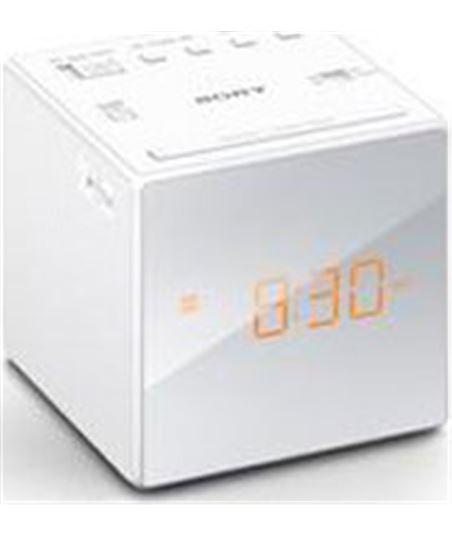 Radio reloj Sony icfc1b.ced blanco ICFC1WCED - ICFC1W