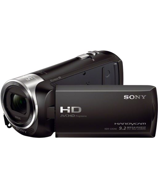 Sony HDRCX240EBCEN videocµmara fhd hdrcx240eb negra+sd - HDRCX240EBCEN
