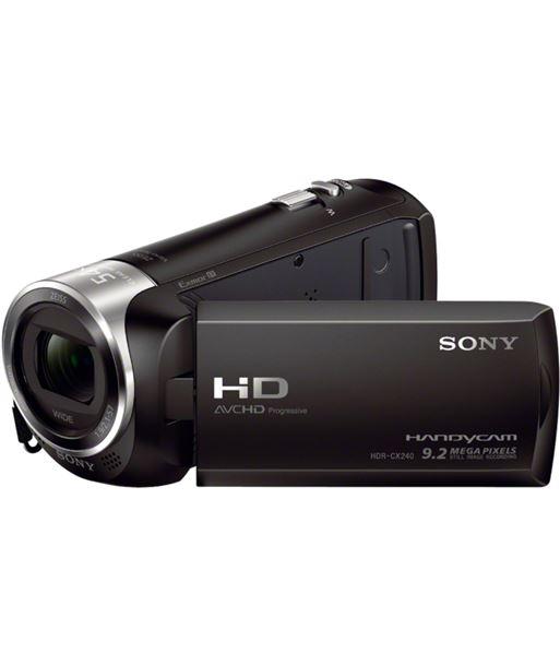 Videocµmara fhd Sony hdrcx240eb negra+sd - HDRCX240EBCEN