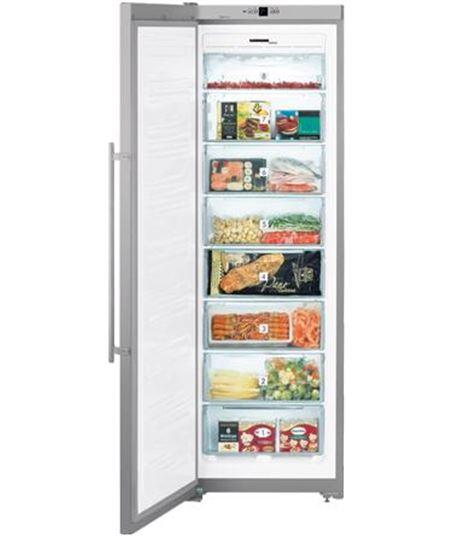 Congelador vertical  no frost sgnesf-3063-24 Liebherr (185x60x63)inox 4016803163985