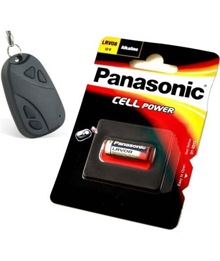 Pila alcalina Panasonic LRV08 12v para mando - 5019068592568