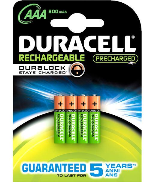Duracel RECARGLR03B4 pack 4 pilas recargable aaa (lr03) duralock 800 - 5000394203822