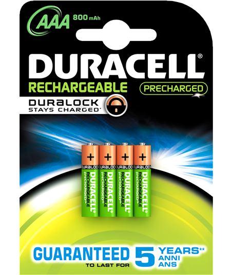 Duracel pack 4 pilas recargable aaa (lr03) duralock 800 lr03duralokb4 - 5000394203822