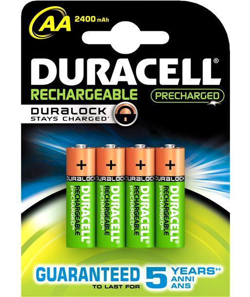 Duracel LR06DURALOKB pack 4 pilas recargable aa (lr 06) duralock 2400 - 5000394057043