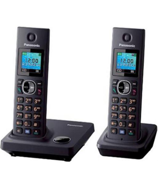 Pack 2 dect. Panasonic KXTG7852SPB duo Telefonía doméstica - KXTG7852SPB