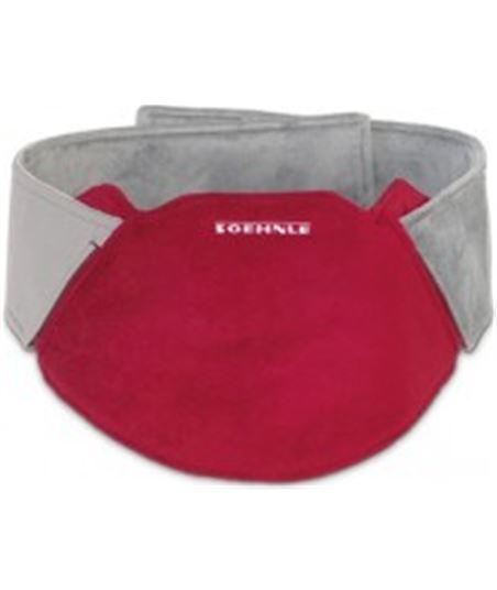 Cinturon termico Soehnle sin cables rojo/gris 68031 - 68031