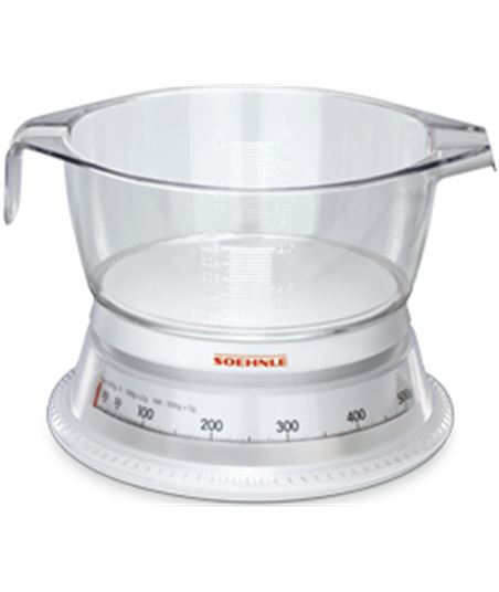 Bascula cocina Soehnle con bol medidor vario bi SOE65418