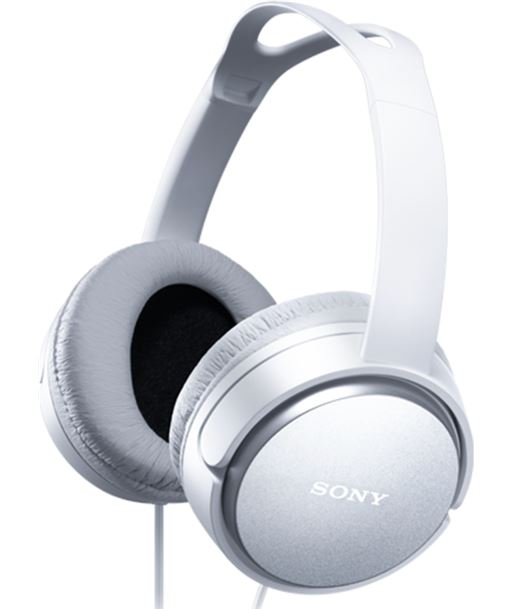Auriculares Sony mdrx150w blanco (diadema) SONMDRXD150W - SONMDRXD150W