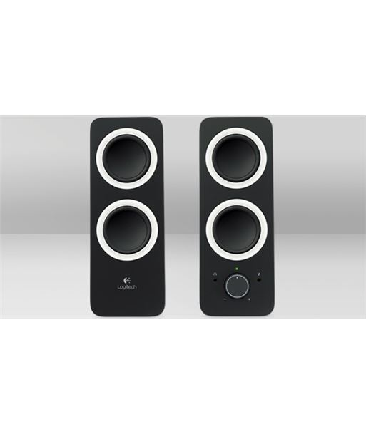 Altavoces pc 2.0 Logitech z200 negros LOG980000810 - 5099206048744