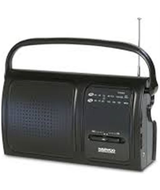 Radio Daewoo drp-19 black DBF076 Otros - DBF076