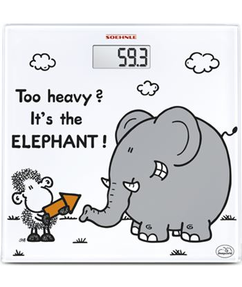 Bal. digital  Soehnle too heavy?sheepworld elephant SOE63343