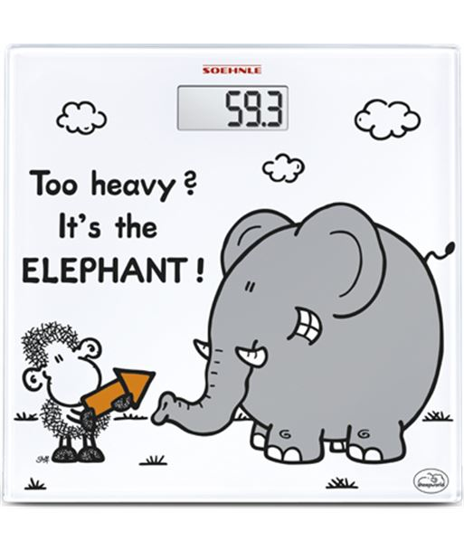 Bal. digital  Soehnle too heavy?sheepworld elephant SOE63343 - 4006501633439