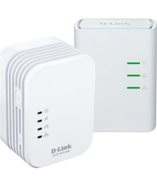 Kit plc mini 500 mbps wifi n300 D-link DLKDHP-W311AV - DLKDHP-W311AV