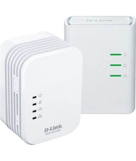 Kit plc mini 500 mbps wifi n300 D-link dhp_w311av