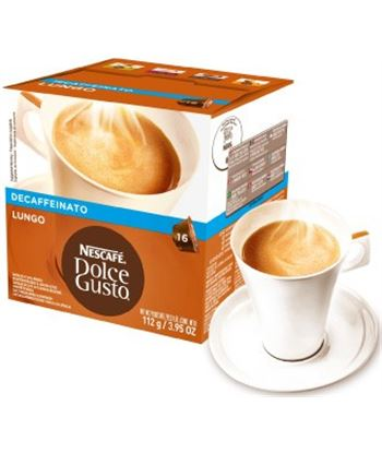 Bebida Dolce gusto caffe lungo descafeinado 112g NES12062868