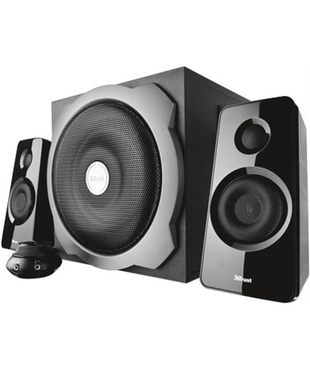 Tytan altavoces 2.1 Trust subwoofer set-black 19019 - TRU19019
