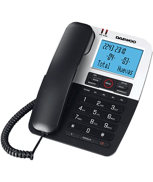 Daewoo DW0061 tel bipieza dtc-410 agenda 80 telf. Telefonía doméstica - 8412765737497