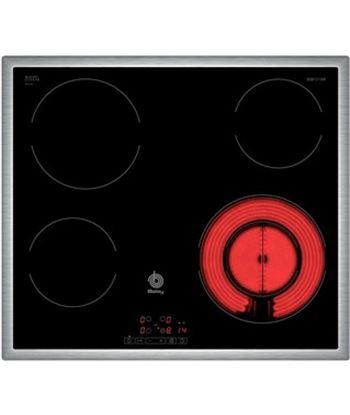 Vitrocerámica  Balay 3EB721XR 4z. 60cm marco inox