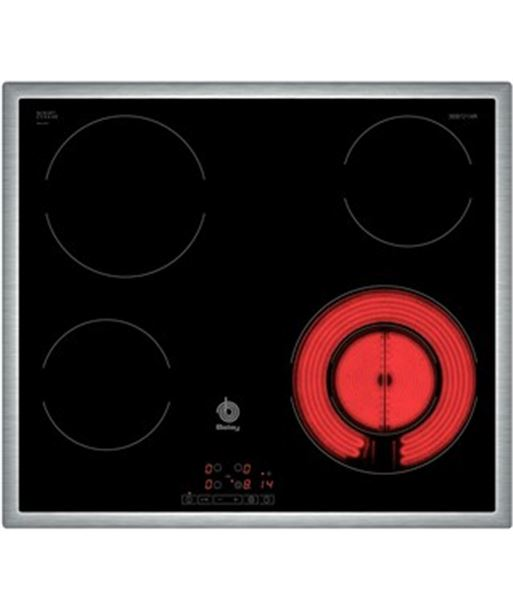 Vitrocerámica  Balay 3eb721xr 4z. 60cm marco inox - 3EB721XR