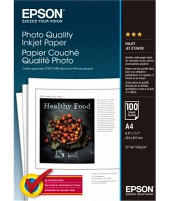 Epson papel ep photo quality inkjet paper a4 100h 167g epsc13s041061 - 010343812017