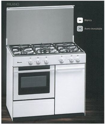 Cocina gas 5z Meireles G2950DVW (portabombona) Cocina - LG2950DVW
